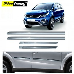Buy Tata Hexa Silver Chromed Side Beading online at low prices-RideoFrenzy