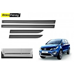 Buy Tata Hexa Black Chromed Side Beading online at low prices-RideoFrenzy