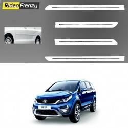 Buy Tata Hexa White Chromed Side Beading online at low prices-RideoFrenzy