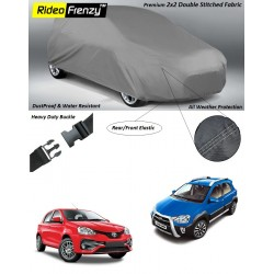 Buy Heavy Duty Toyota Etios Liva & Etios Cross Car Body Covers online at low prices-Rideofrenzy