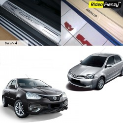 Buy Toyota Etios Door Stainless Steel Sill Plate online at low prices-Rideofrenzy