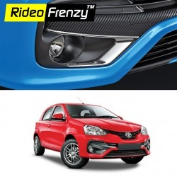 Buy Toyota Etios Platinum & Liva Chrome Side Mirror Covers online at low prices-Rideofrenzy