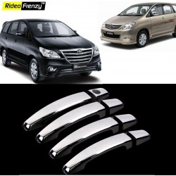 Buy Toyota Innova Chrome Handle Covers online at low prices-Rideofrenzy