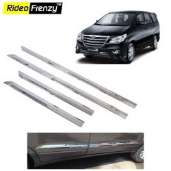 Buy Toyota Innova Stainless Steel Side Beading online at low prices-Rideofrenzy