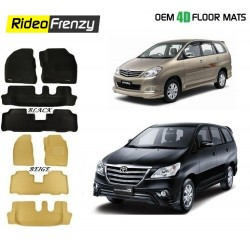 Buy Ultra Light Bucket Toyota Innova 4D Crocodile Floor Mats online at low prices-Rideofrenzy
