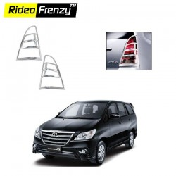 Buy New Toyota Innova Chrome Tail Light Covers online at low prices-Rideofrenzy