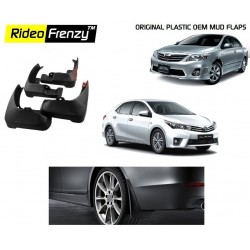 Buy Plastic OEM Toyota Corolla Altis Mud Flaps online at low prices-Rideofrenzy