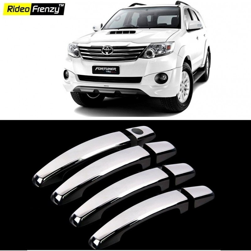 Buy Toyota Fortuner Chrome Handle Covers online at low prices-Rideofrenzy