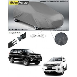 Buy Heavy Duty Toyota Fortuner Car Body Cover online at low prices-Rideofrenzy