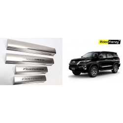 Buy New Toyota Fortuner Door Stainless Steel Sill Plate online at low prices-Rideofrenzy