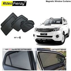 Toyota Fortuner Magnetic Car Window Sunshade-6pcs