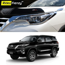 Buy New Toyota Fortuner Chrome Head Light Covers online at low prices-Rideofrenzy