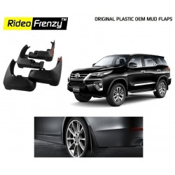 Buy Plastic OEM Toyota Fortuner Altis Mud Flaps online at low prices-Rideofrenzy