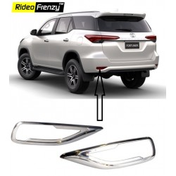 Buy Toyota New Fortuner Rear Reflector Chrome online at low prices-Rideofrenzy
