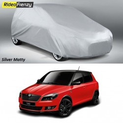 Buy Heavy Duty Skoda Fabia Car Body Covers at low prices-Rideofrenzy