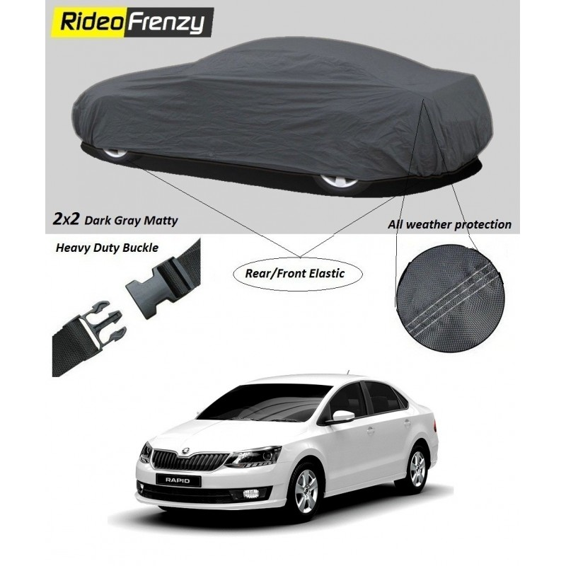 Buy Heavy Duty Skoda Rapid Car Body Cover online at low prices-Rideofrenzy