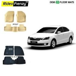 Buy Ultra Light Bucket Skoda Rapid 4D Crocodile Floor Mats online at low prices-Rideofrenzy