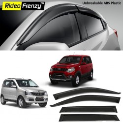 Buy Unbreakable Mahindra Quanto & Nuvo Sport Door Visors in ABS Plastic at low prices-RideoFrenzy