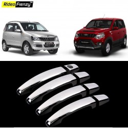Buy Mahindra Quanto & Nuvo Sport Chrome Catch/Handle Covers online at low prices-Rideofrenzy