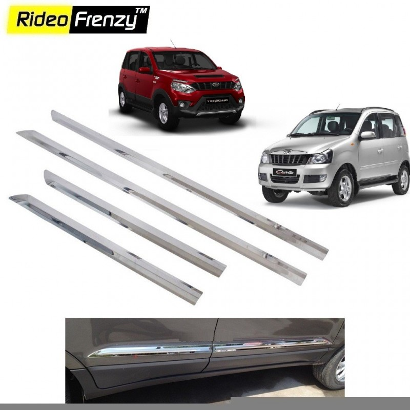 Stainless Steel Mahindra Quanto & Nuvo Sport Chrome Side Beading