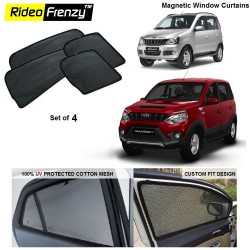 Buy Mahindra Quanto & Nuvo Sport Magnetic Window Sunshade online at low prices-Rideofrenzy