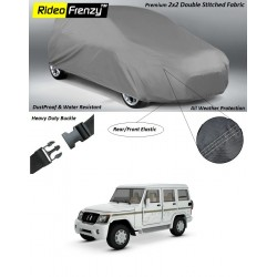 Buy Heavy Duty Mahindra Bolero Car Body Covers online at low prices-Rideofrenzy