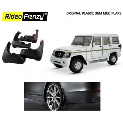 Buy Original OEM Mahindra Bolero Mud Flaps online at low prices-Rideofrenzy