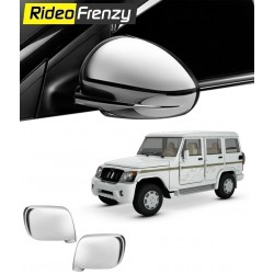 Buy Mahindra Bolero Chrome Mirror Covers online at low prices-Rideofrenzy