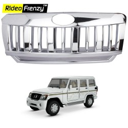 Buy Mahindra Bolero Chrome Grill Covers online at low prices-RideoFrenzy