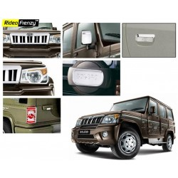 Buper Glossy Mahindra Bolero Chrome Combo Set of 6