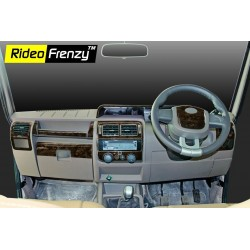Buy Mahindra Bolero Wooden Dashboard Kit online at low prices-RideoFrenzy