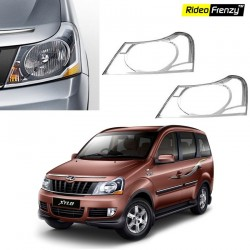Buy Mahindra Xylo Chrome HeadLight Covers online at low prices-Rideofrenzy