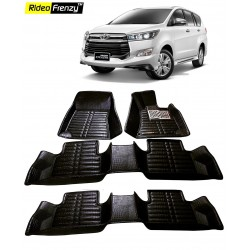 Buy Innova Crysta Full Bucket 5D Crocodile Floor Mats online at low prices-Rideofrenzy