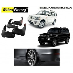Buy Original OEM Mahindra Scorpio Mud Flaps online at low prices | RideoFrenzy
