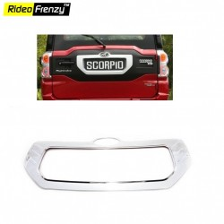 BuyNew Mahindra Scorpio Rear Chrome Garnish online at low prices-Rideofrenzy