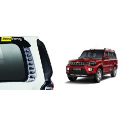 Buy New Mahindra Scorpio Chrome Quarter Glass Garnish online at low prices-Rideofrenzy