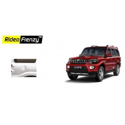 Buy New Mahindra Scorpio Chrome Disel Tank Cover online at low prices-Rideofrenzy