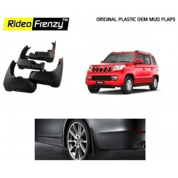 Buy Original OEM Mahindra TUV300 Mud Flaps online at low prices-Rideofrenzy