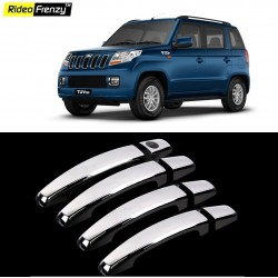 Buy Mahindra TUV300 Chrome Handle Covers online at low prices-Rideofrenzy