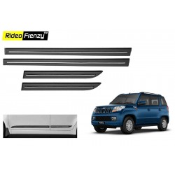 Buy Mahindra TUV300 Black Chromed Side Beading online at low prices-Rideofrenzy