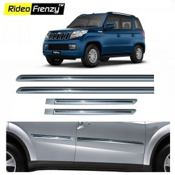 Buy Mahindra TUV300 Silver Chromed Side Beading online at low prices-Rideofrenzy