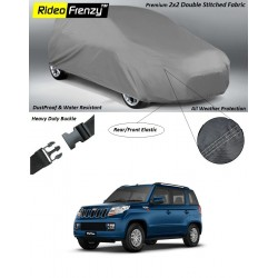 Buy Heavy Duty Mahindra TUV300 Car Body Cover online at low prices-Rideofrenzy