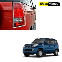 Buy Mahindra TUV300 Chrome Tail Light Covers online at low prices-Rideofrenzy