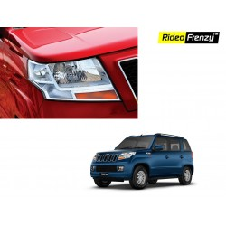 Buy Mahindra TUV300 Chrome Headlight Covers online at low prices-Rideofrenzy