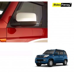 Buy Mahindra TUV300 Chrome Mirror Covers online at low prices-Rideofrenzy
