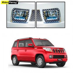 Buy Mahindra TUV300 Chrome Fog Lamp Covers online at low prices-Rideofrenzy