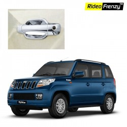 Buy Mahindra TUV300 Full Chrome Handle Garnish online at low prices-Rideofrenzy