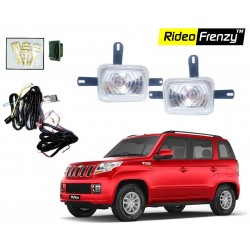 Buy Mahindra TUV300 Fog Lamp with Wiring & Switch full Kit online at low prices-Rideofrenzy
