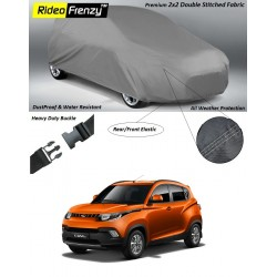 Buy Heavy Duty Mahindra KUV100 Body Cover online at low prices-Rideofrenzy