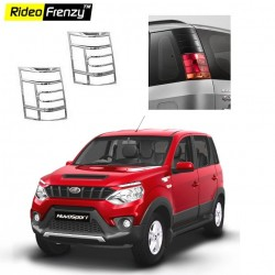 Buy Mahindra NuvoSport Chrome Tail Light Covers online at low prices-Rideofrenzy